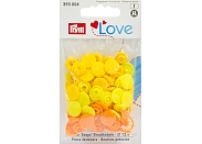 "Кнопки Prym Love 393004 ""Color Snaps"" круглые d12,0 (30шт.)"